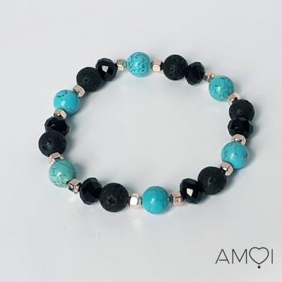 Bracelet Carla - Turquoise - Amoi Bijoux